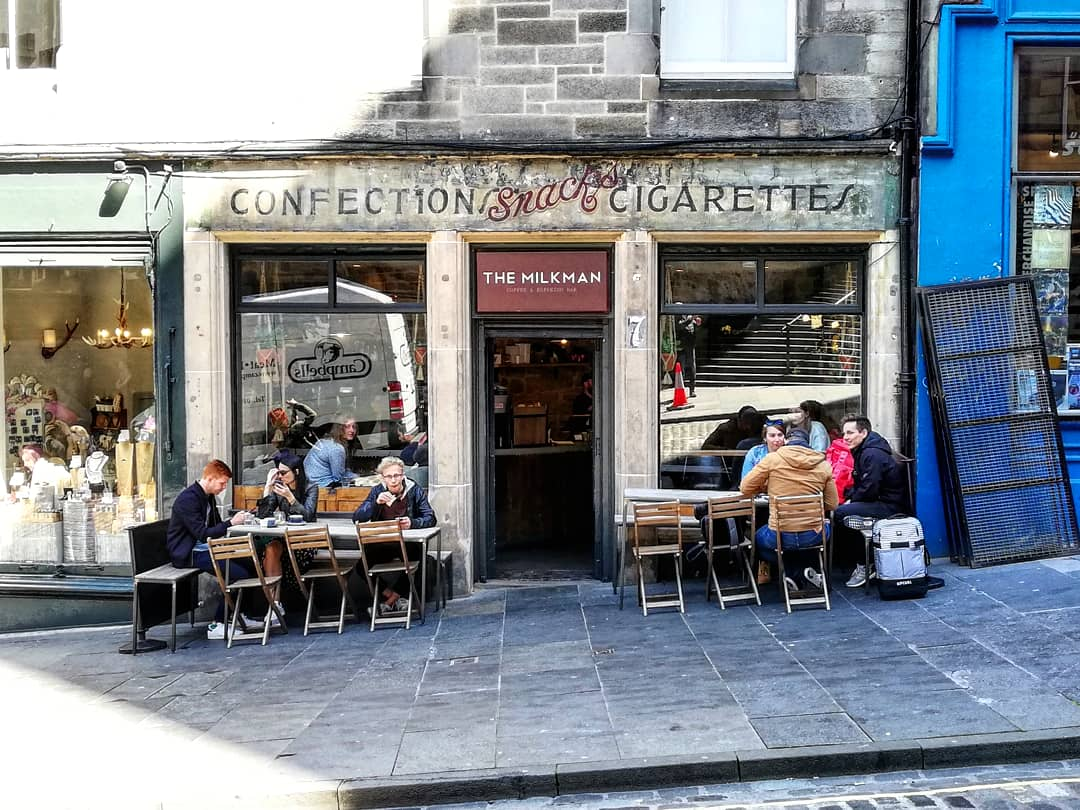 The Best Cafés And Coffee Shops In Edinburgh