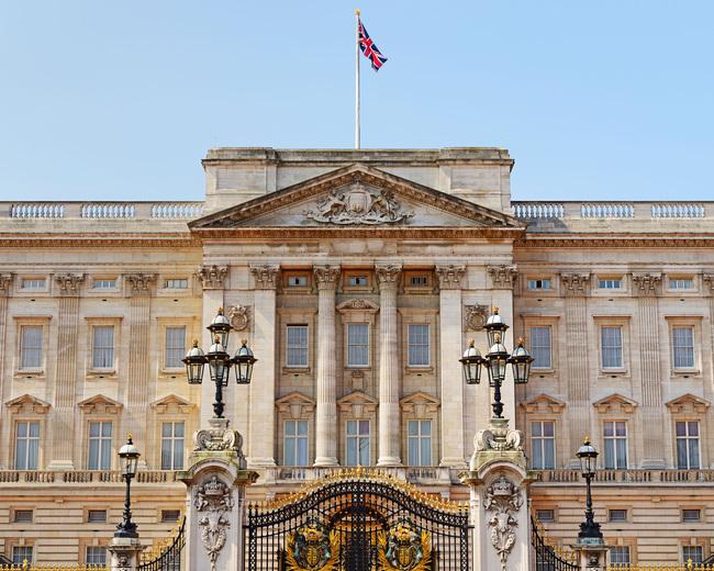 Buckingham Palace, London, England, UK.