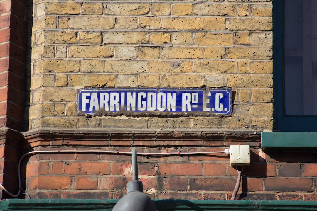 London Street Signs Contain Clues to the City's History