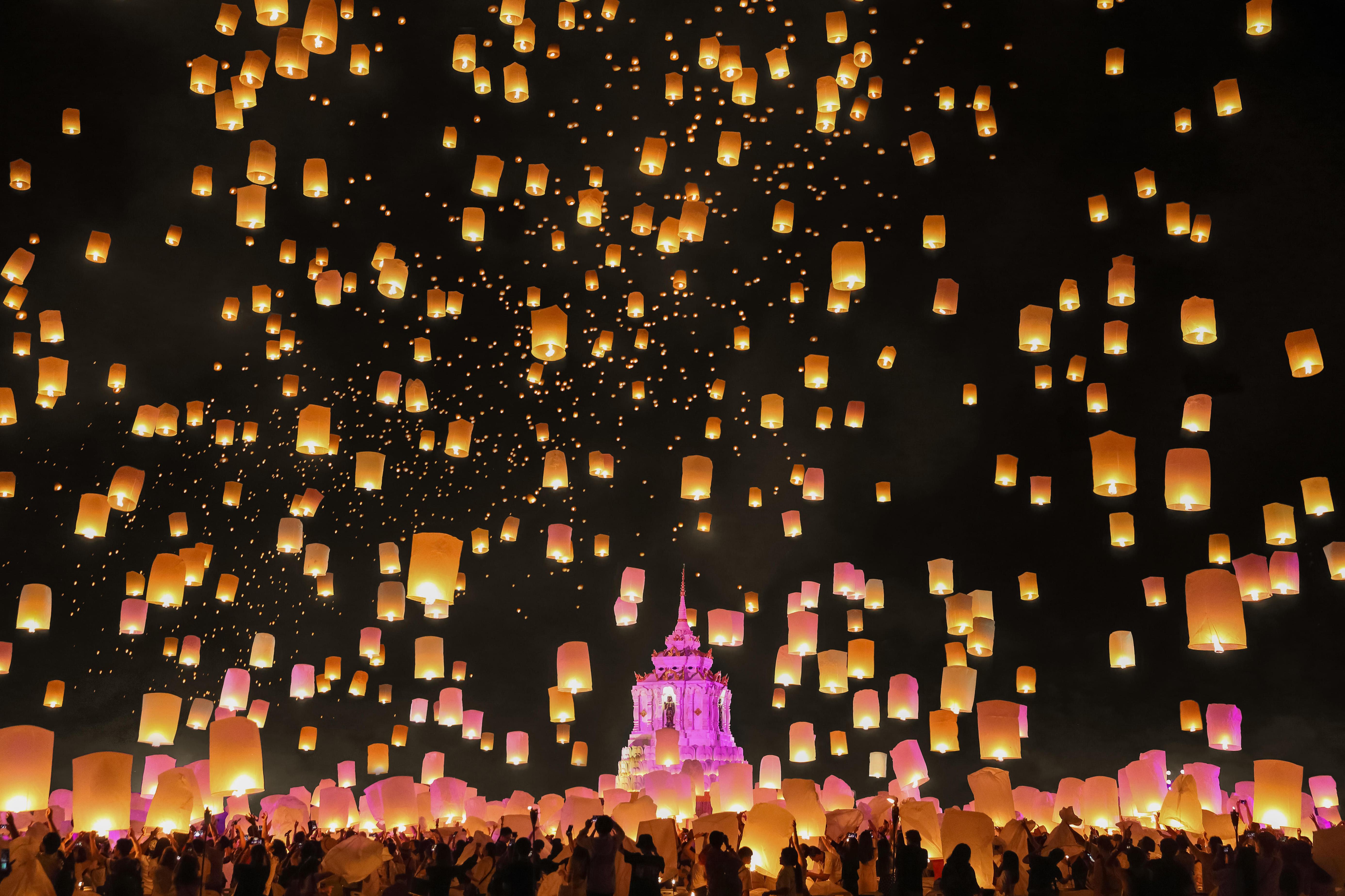 The History Of Toro Nagashi An S Glowing Lantern Festival